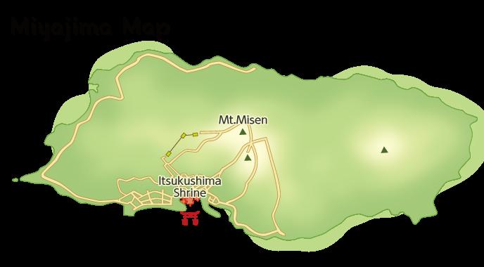 Model Courses Miyajima Tourist Association